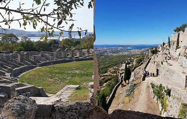split - salona/klis transfer