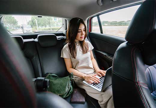 premium transfer - business trip by split transfers